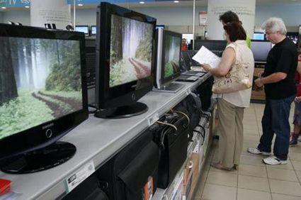 960 de televizoare LCD confiscate de Garda Financiară Buzău