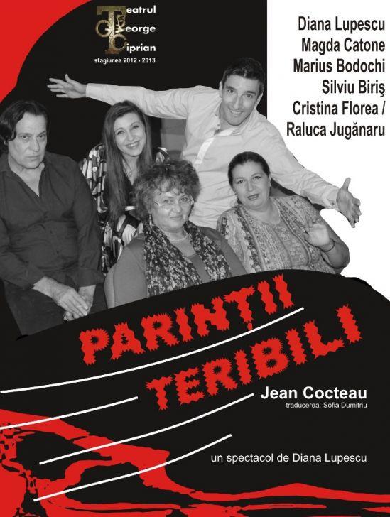 """""""Părinţii teribili"""", pe 19 octombrie, la Buzău"""