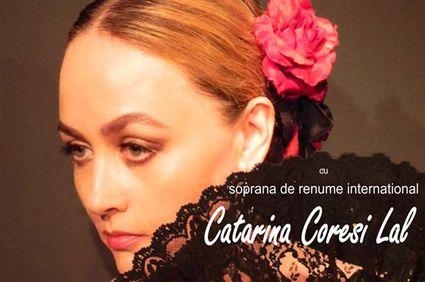 """Soprana Catarina Coresi Lal, în piesa """"Carmen"""", la Buzău"""