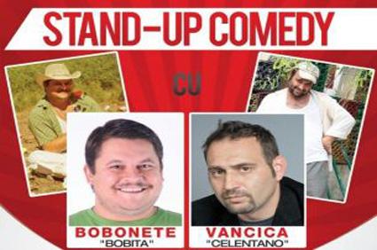 Bobiţă şi Celentano din Las Fierbinţi, stand-up comedy la Buzău pe 10 iulie
