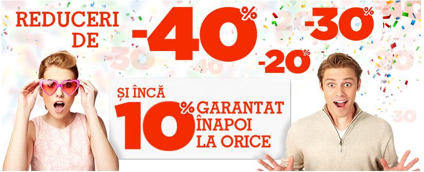Reduceri de pana la 40% la eMAG.ro si 10% card cadou la orice produs