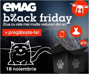 eMAG: Primele oferte de Black Friday 2016