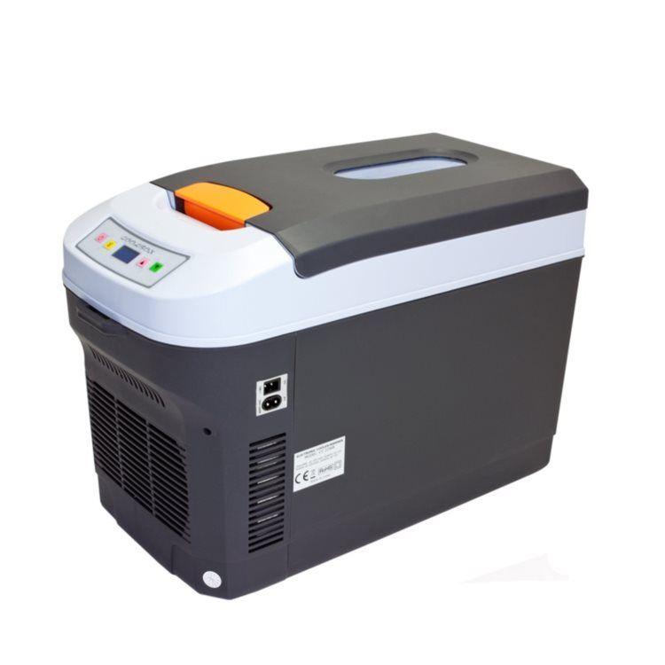 Mini Frigider Turistic Portabil 2-in-1 Racire si Incalzire 12V-220V cu Afisaj LCD, Capacitate 22L, Putere 80W