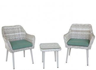 Set mobilier gradina terasa Kring Nisa, masa 2 fotolii